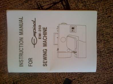 Empisal em-250 deluxe sewing machine   junk mail.
