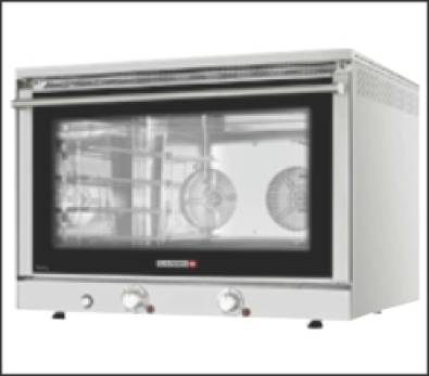 4 pan convection  oven 600 x400mm trays