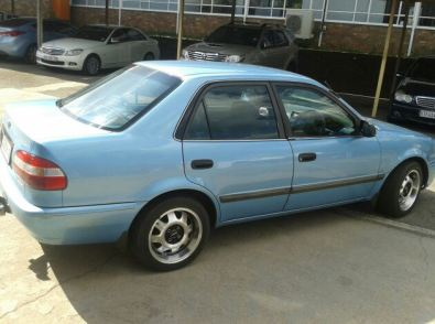 2002 Toyota Corolla Gle 1 3 For Sale R 40000 Cash Junk Mail