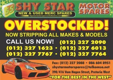 SHYSTAR MOTOR SPARES CC NEW & USED MERC SPARES