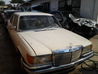 MERC BENZ W116 STRIPPING FOR SPARES