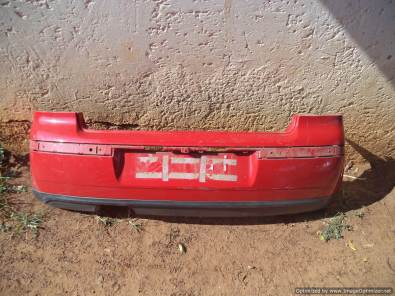 Vw Polo GTI rear bumper & more