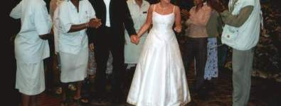 Stunning Classic A-Frame Wedding Dress