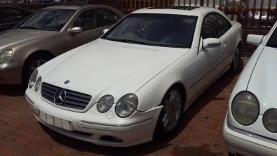 2002 CL500 W215 AUTO