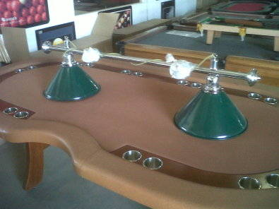 pool table light canopys