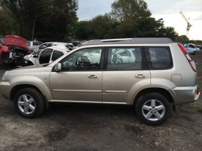 NISSAN X TRAIL STRIPPING
