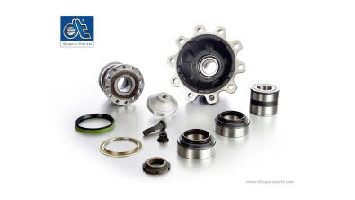 Wheel Hub, Bearings