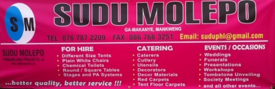 catering and rentals