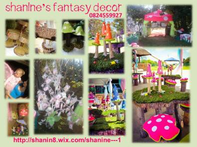 FAIRY MUSHROOM DECOR FOR KIDS PARTY