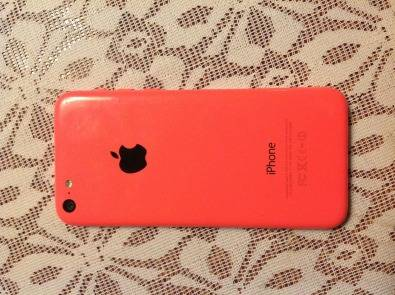 iPhone 5c pink(UNUSED & in my cupboard.)
