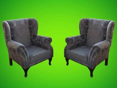 wingback chairs junk mail