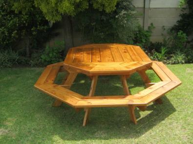 Kaoko 10 Seater Bench Table