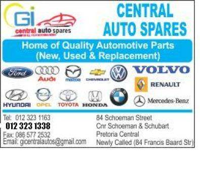 CAR AND BAKKIE SPARES FROM R 20.00@CENTRAL SPARES