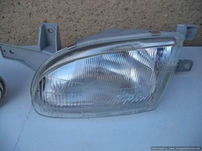hyundai accent left side headlight for sale