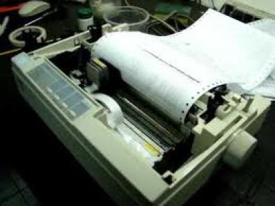 Epson LX Dot Matrix Invoice Printer Junk Mail - Invoice printer machine