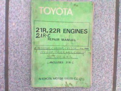 toyota 21r 22r 21r c repair manual junk mail rh junkmail co za Toyota Tis Website Toyota Tis Website