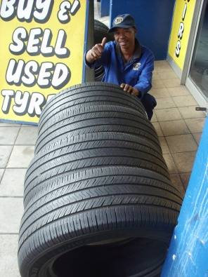 BARGAIN USED TYRES .60%-80% TREAD