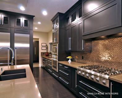 Beautiful mahogany kitchen