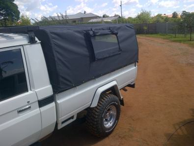 Ripstop canvas canopy