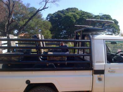 hunting frame for Land Cruiser