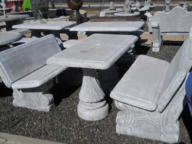 Cement Garden Furniture