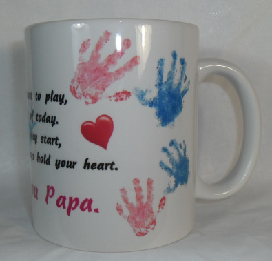 Fathers Day June15th, Personalised coffee mugs R70