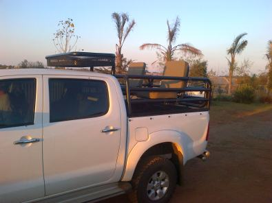 Hunting rig for bakkie