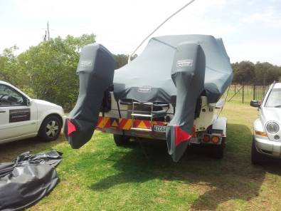 Custom made  covers for towing and storage
