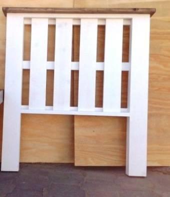 Headboard Farmhouse series Single bed Two tone