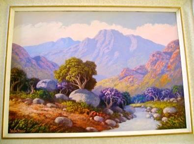 Victor Visser painting