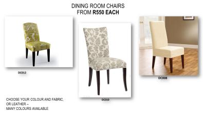 Great Savings On Custom Made Dining Chairs
