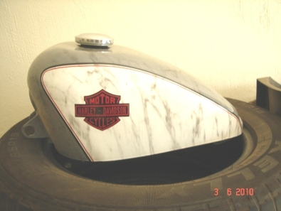 Brand new 9Ltr HD Sportster tank with cap for sale