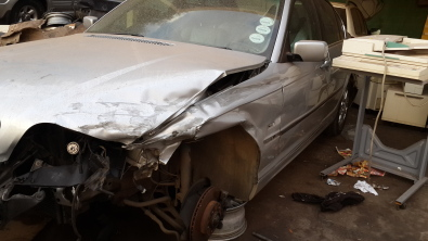 Bmw E46 Accident Damaged But Repairable Junk Mail