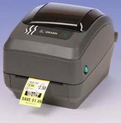 Zebra GK-420t & Lp-2844 Label Printer