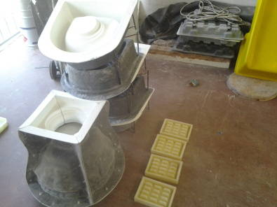 Moulds for concrete products