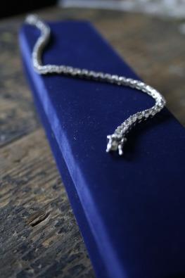 American Swiss Sterling Silver Tennis Bracelet Junk Mail