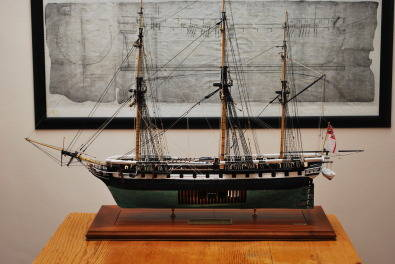 Model Ship Restoration.