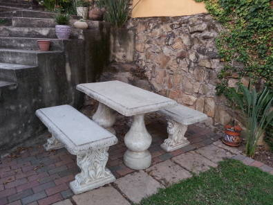 Concrete Table And Benches For Sale Junk Mail