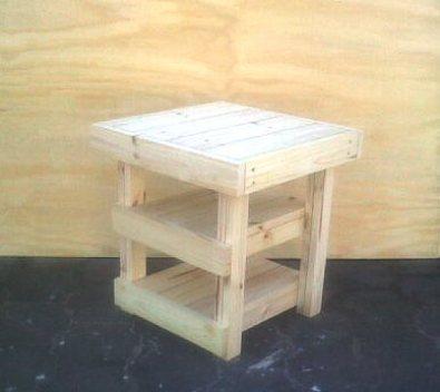 Side table Farmhouse series 515 Raw