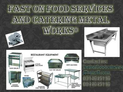 We pay CASH for butchery and takeaway equipment