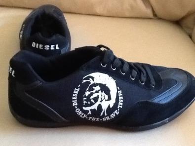 55d2e3dc6337f6 Black Diesel shoes