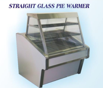 Pie warmer flat glass floor model
