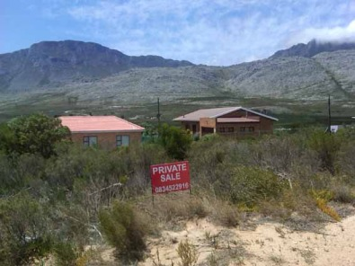Pringle Bay Prime plot - all offers considered