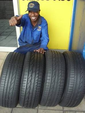 BARGAIN TYRES 60%-80% TREAD