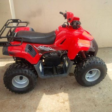 150cc Helix Limited Edition four wheeler | Junk Mail