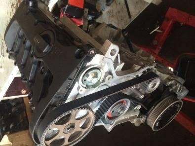 Audi A4 2.0l motor