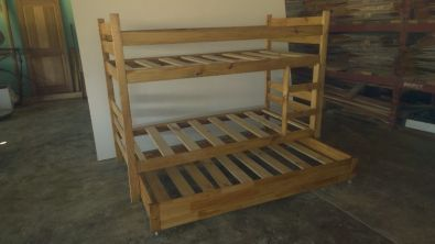 Bunk Beds Hand Made Triple Bunks