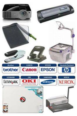 OFFICE EQUIPMENT, STATIONERY, PRINTER CONSUMABLES