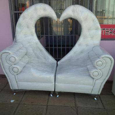 Bride and Groom chair for sale and hire & Bride and Groom chair for sale and hire | Junk Mail
