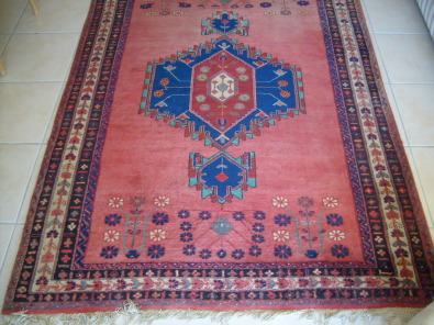 ORIGINAL PERSIAN AFSHAR CARPET